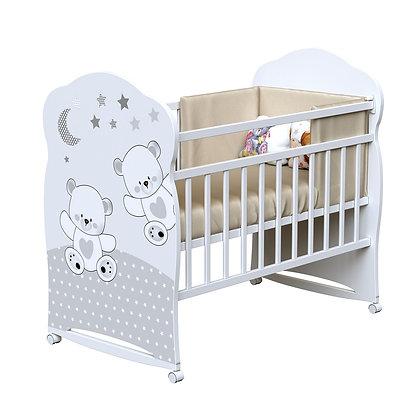 Кровать детская ВДК FUNNY BEARS (колесо-качалка)