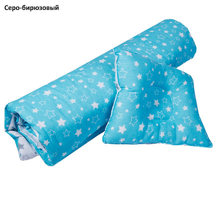 Набор в кроватку/коляску, одеяло 110*120, подушка анатомическая