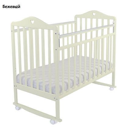 Кровать детская Альма Няня КАТАРИНА (колесо, качалка, опуск.планка)