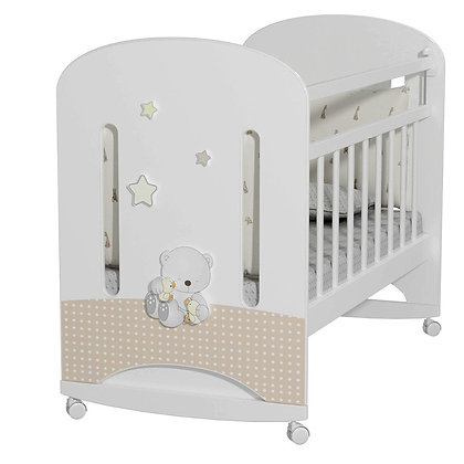 Кровать детская Альма-Няня Amici Nuvola (колесо-качалка)