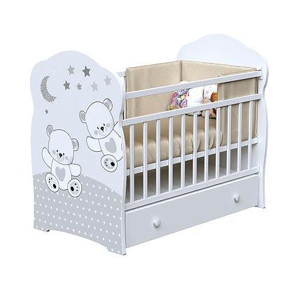 Кровать детская ВДК FUNNY BEARS (маятник-ящик)