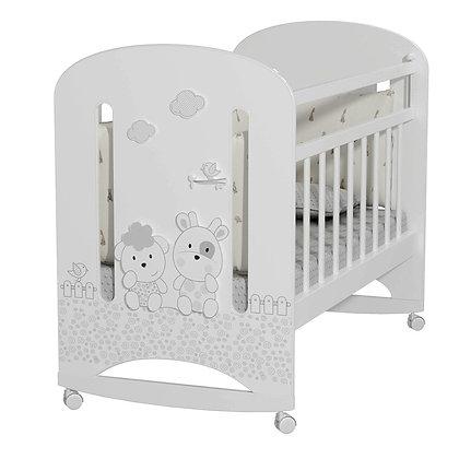 Кровать детская Альма-няня Fattoria Nuvola (колесо-качалка)