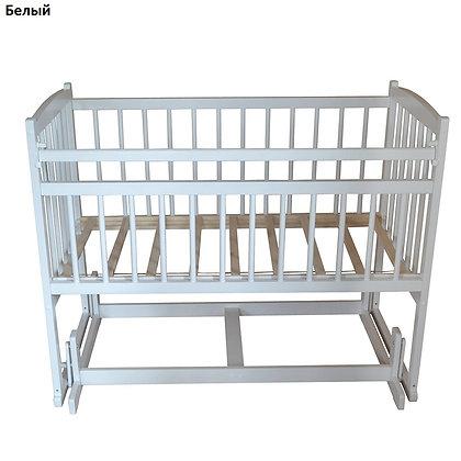Кровать детская Массив БЕБИ 4 (попереч. маятник)