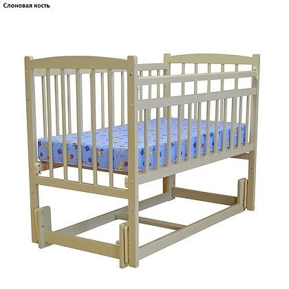 Кровать детская Массив Беби 3 (продол. маятник) РАЗБОРНАЯ