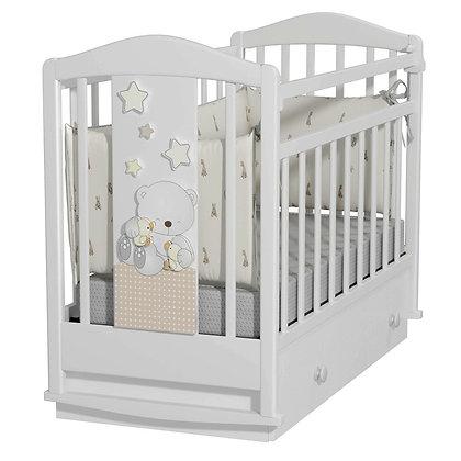 Кровать детская Альма-Няня Amici Prima (маятник с ящиком)