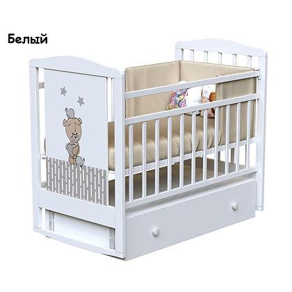 Кровать детская ВДК LOVE ME (маятник-ящик)