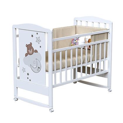 Кровать детская ВДК BIRBA (колесо-качалка)