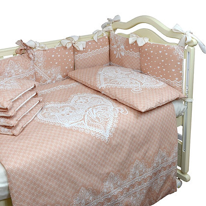 Комплект в кроватку 4 предм. АМУР АЖУР