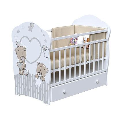 Кровать детская ВДК FOREVER FRIENDS (маятник-ящик)