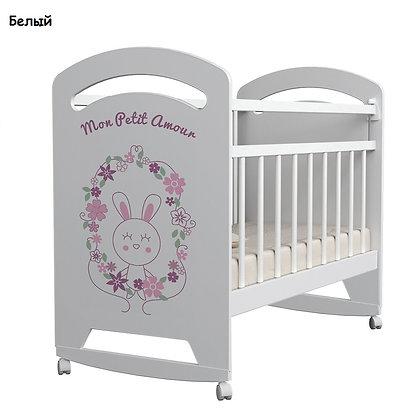 Кровать детская MON AMUR, колесо-качалка