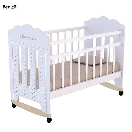 Кровать детская BONNE, колесо-качалка
