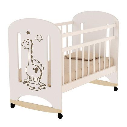 Кровать детская ВДК DINO, колесо-качалка