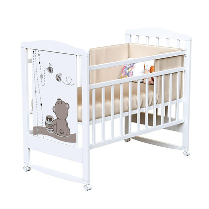 Кровать детская ВДК HONEY BEAR (колесо-качалка)