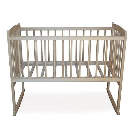 Кровать детская БЕБИ 1 ЭКО (колесо, качалка)