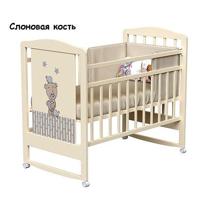 Кровать детская ВДК LOVE ME (колесо-качалка)