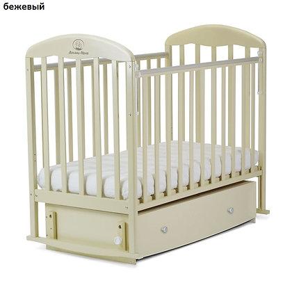 Кровать детская ВЕНЕЦИЯ (маятник, автостенка, ящик)
