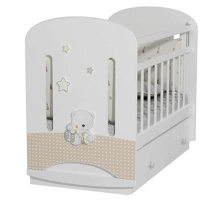 Кровать детская Альма-Няня Amici Nuvola (маятник с ящиком)