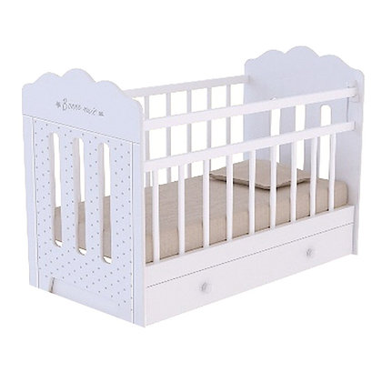 Кровать детская ВДК BONNE с маятником и ящиком