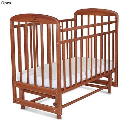 Кровать детская Альма-Няня МИЛАНА (маятник, опуск. планка)