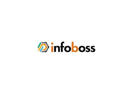 Infoboss logo - in center lots of space