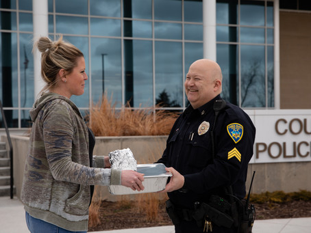 Barley's delivers corned beef and cabbage to local police, firefighters and health care workers