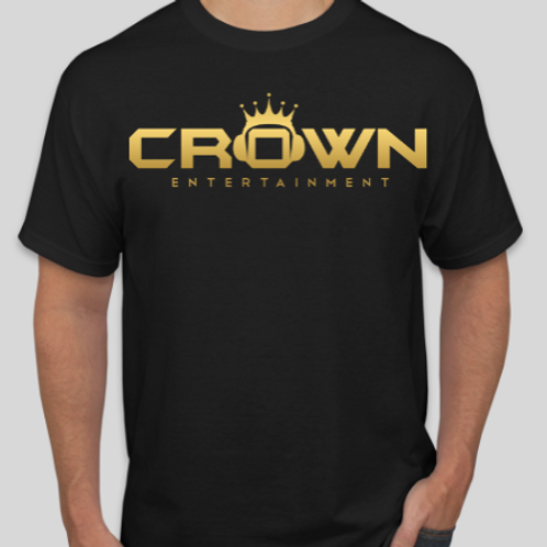 Crown Black T-Shirt