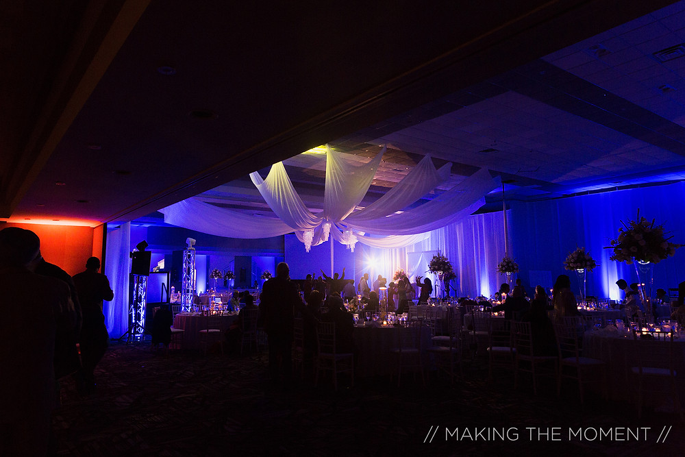 Crown Entertainment - Cleveland Wedding Lighting