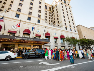 Lavish Indian Wedding at the Renaissance Hotel