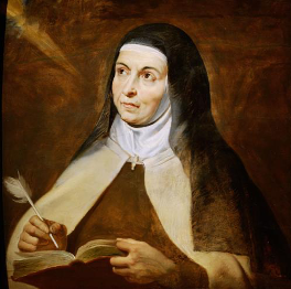 Saint Teresa was Trouble! and other news...