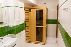 Kúpeľňa - infrasauna