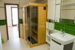 Veľká kúpeľňa - infrasauna