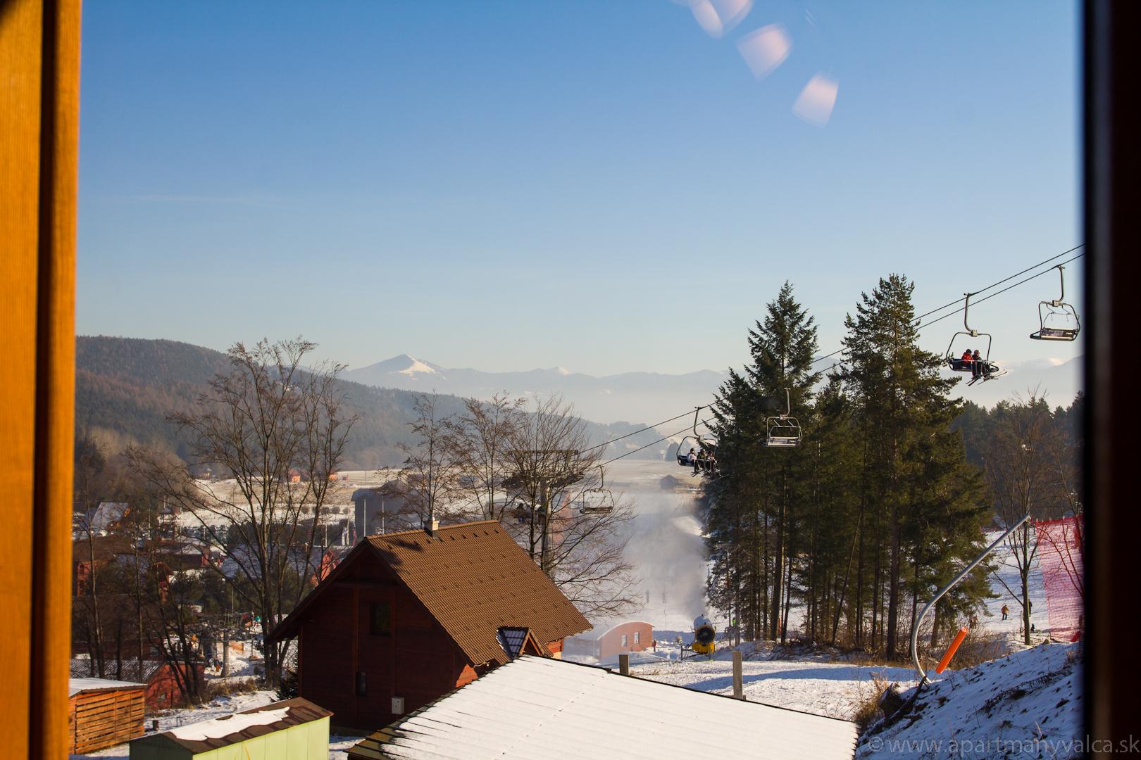 Výhľad zima