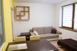 Obývačka s prístelkou