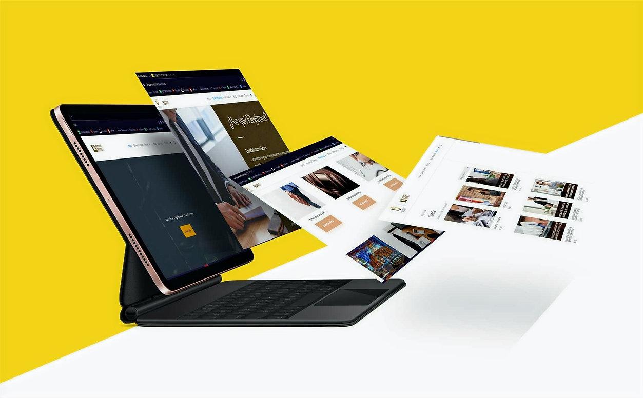 diseño de pagina web empresas pymes pequeños negocios tienda online