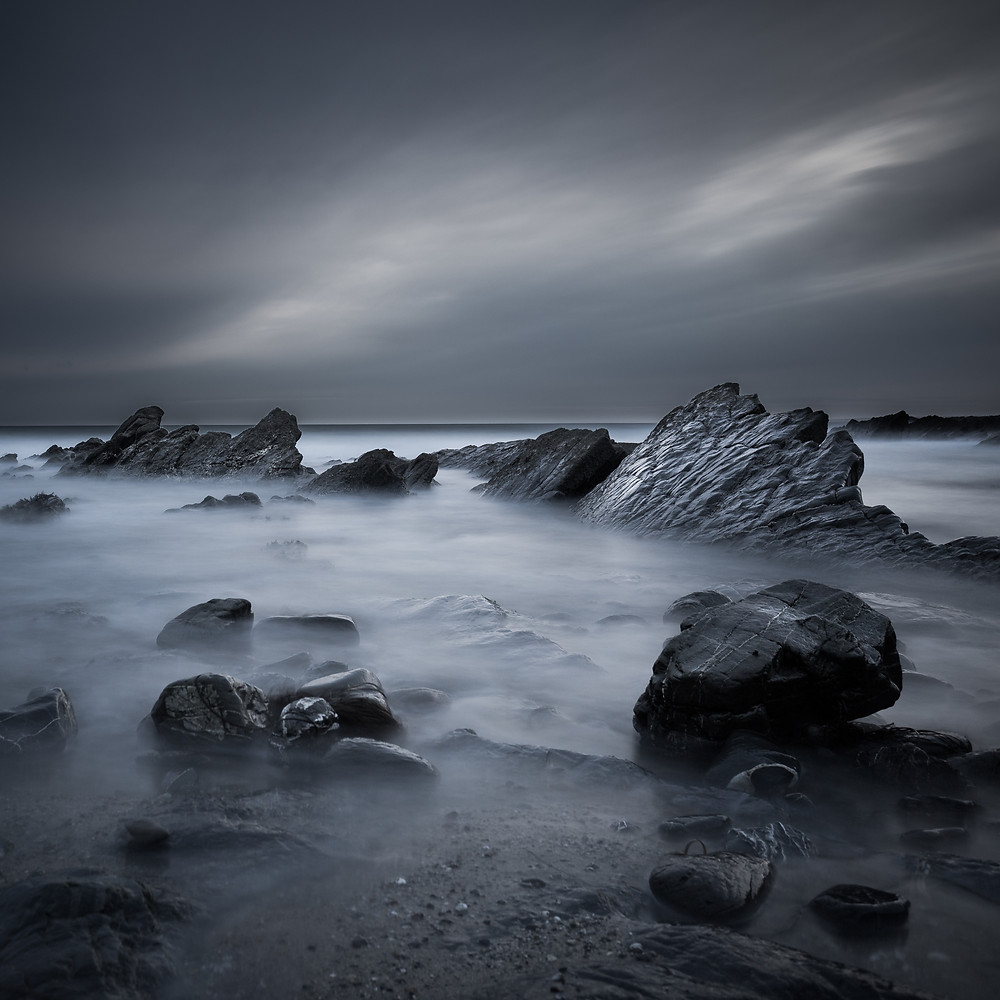 fine art long exposure seascape photography from cornwall