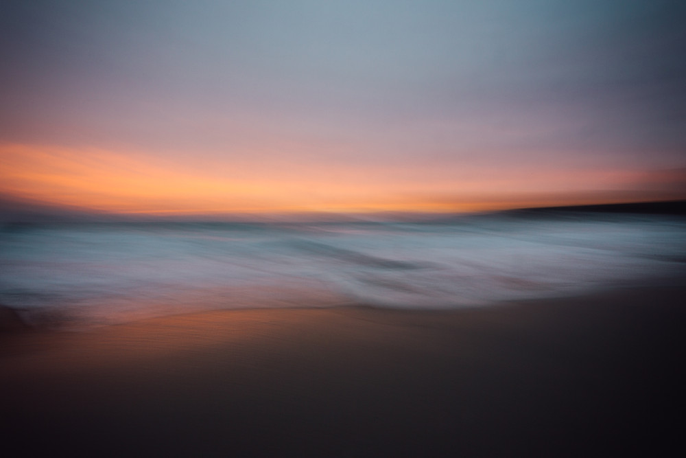 fathom series, cornwall seascape photography using intentional camera movement