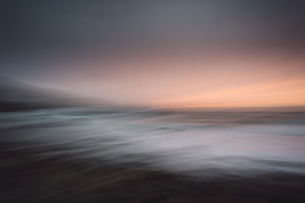 Fathom, abstract cornish seascape photography