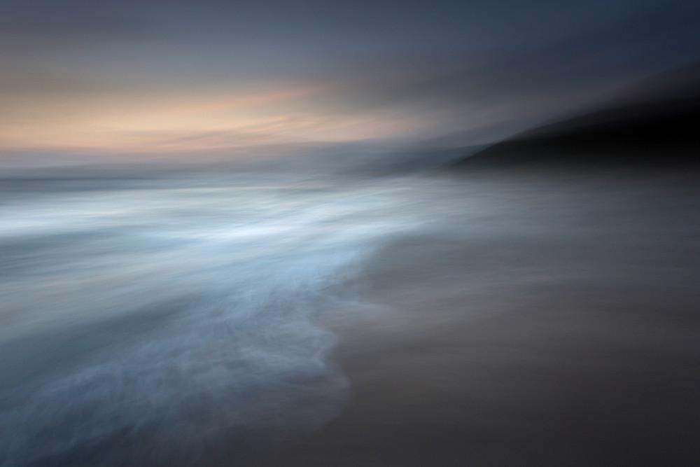 """Fathom"" Abstract ICM Seascapes, Gwenver Beach, Cornwall"