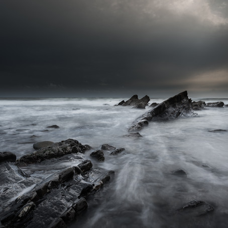 Long Exposure Seascape Photography From Cornwall