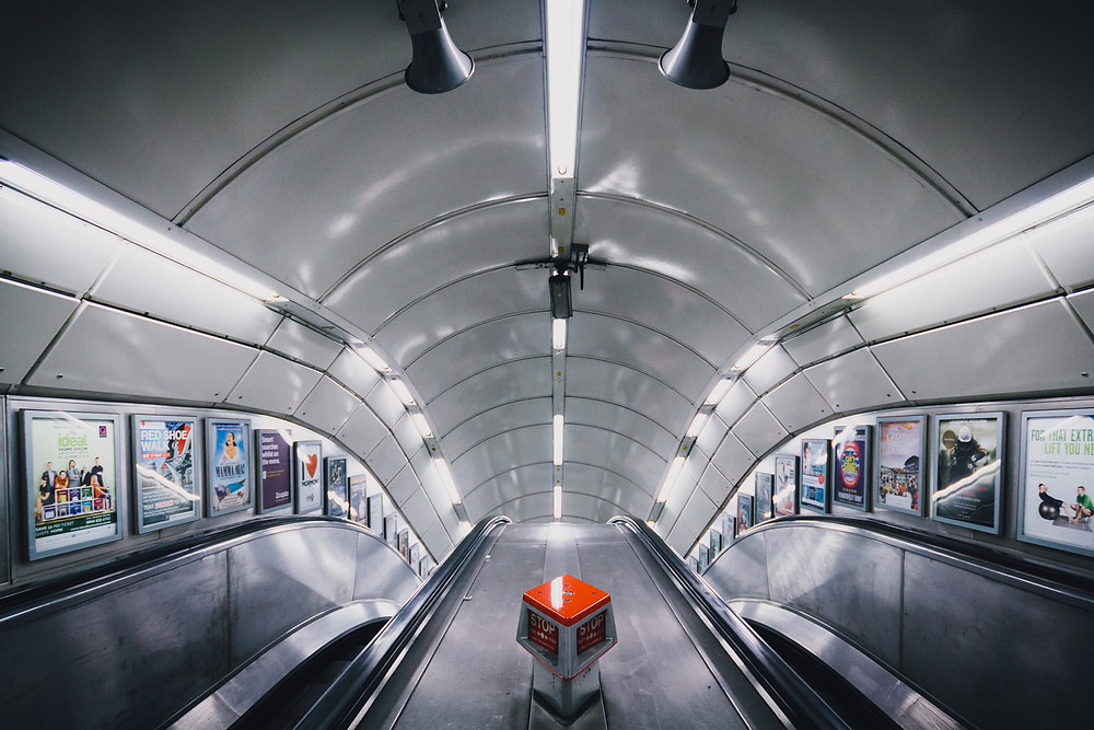 Bank, A journey underground by mark cornick photography