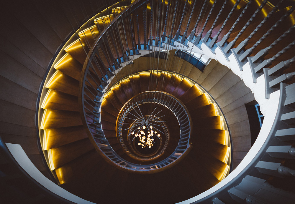 5 best spiral staircases in london, heals department store