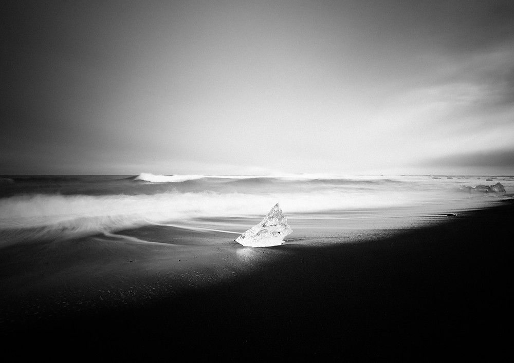 iceland black and white photography by Mark Cornick