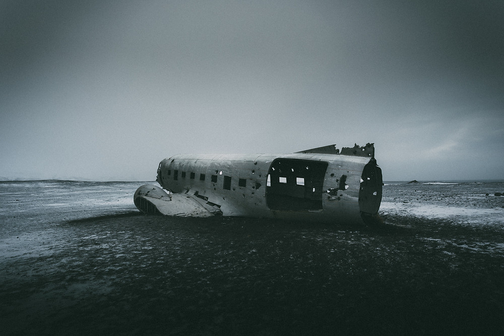 solheimasandur, Iceland, DC3 Plane Wreck by Mark Cornick Photography