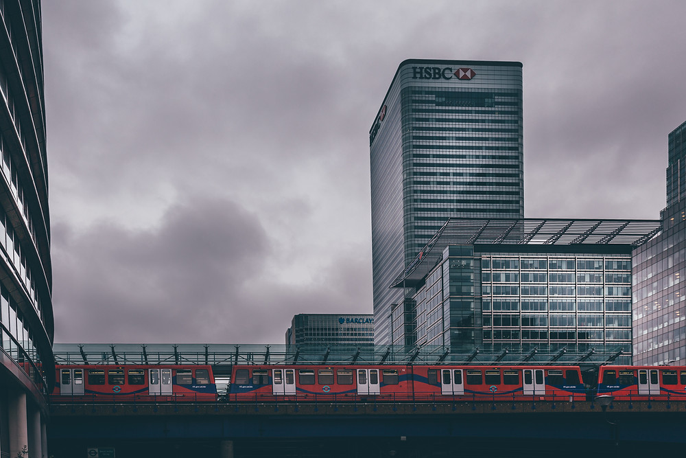 Canary Wharf skyline by Mark Cornick Photography
