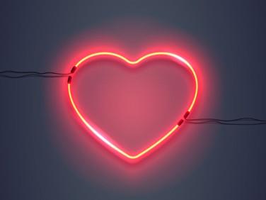 February Wall Hearts