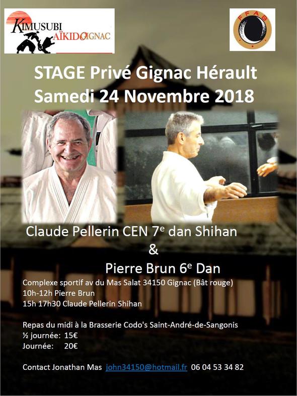 Stage Kimusubi Pierre et Claude 2018