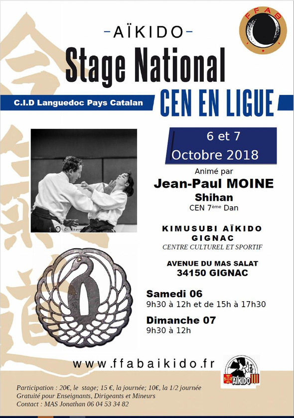 Stage National CEN à Gignac validant*