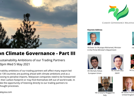 Climate and Sustainability Ambitions of Trading Partners