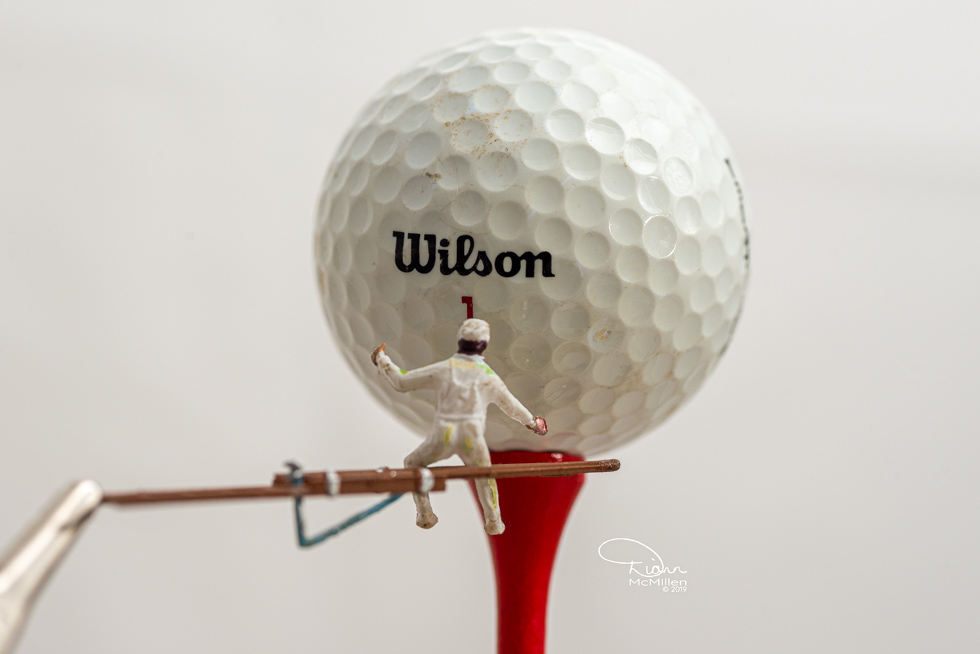 Cleaning Wilson Ball