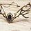Thumbnail: Elf forest antlers tiara with a cameo.